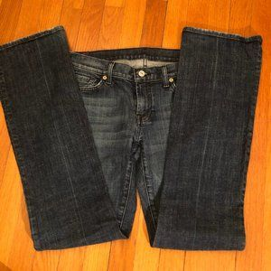 7 For All Mankind Women Jeans boot cut, sz 30